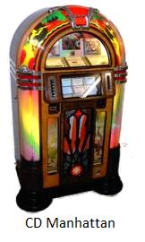 Cd Classic Retro Bubbler Jukebox Hire Rock N Roll