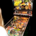 Pinball Machine Hire UK Party Weddings One Day Modern Multiball