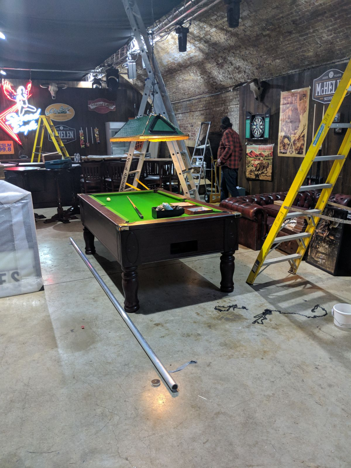 london pool table hire