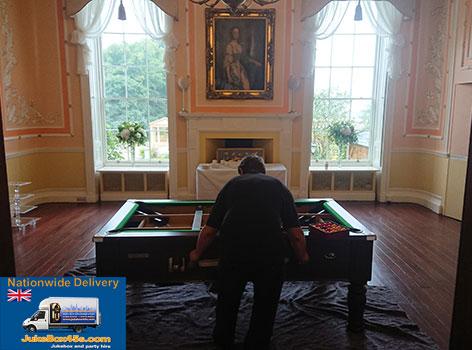 pool-table-install-hire-rowton-castle-wedding-shropshire