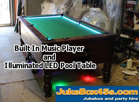 built-in-music-led-illuminated-lit-pool-table-hire-uk
