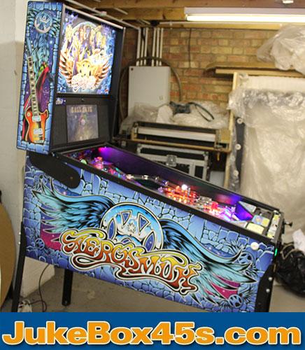 Aerosmith Pinball Machine For Sale to Buy – Tel: 01604